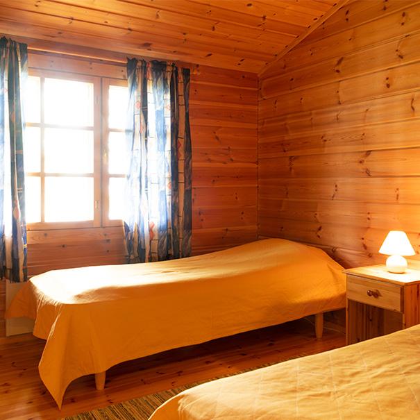 Kalastajan torppa makuuhuone 1