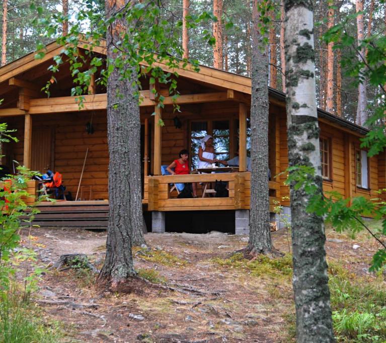 Коттедж для отдыха Хижина рыбака I на 4 + 2 человека, озеро Сайма, муниципалитет Савитайпале, Юго-Восточная Финляндия