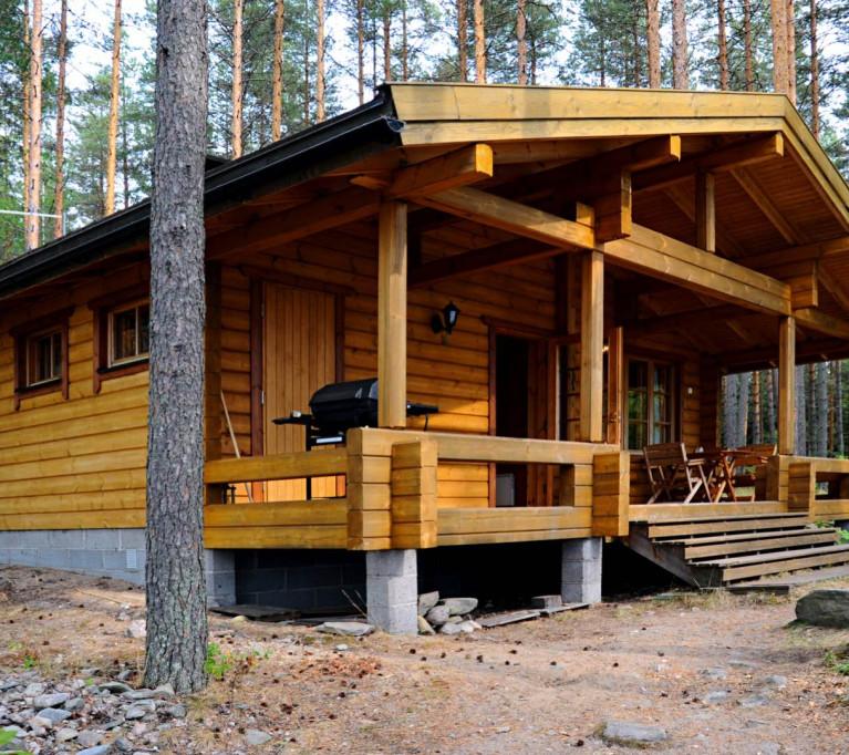 Коттедж для отдыха Хижина рыбака II на 4 + 2 человека, озеро Сайма, муниципалитет Савитайпале, Юго-Восточная Финляндия