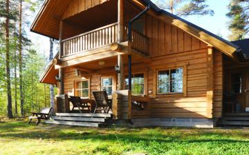 Syväjärvi-mökki sijaitsee Mikkelin Suomenniemellä
